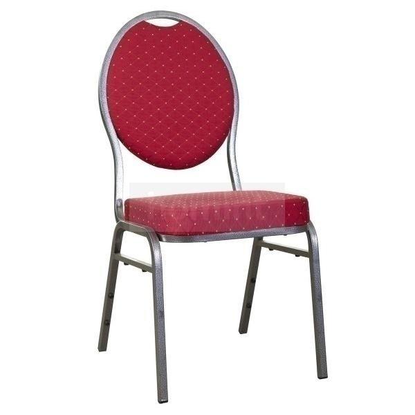 banketová židle Selectstack červená