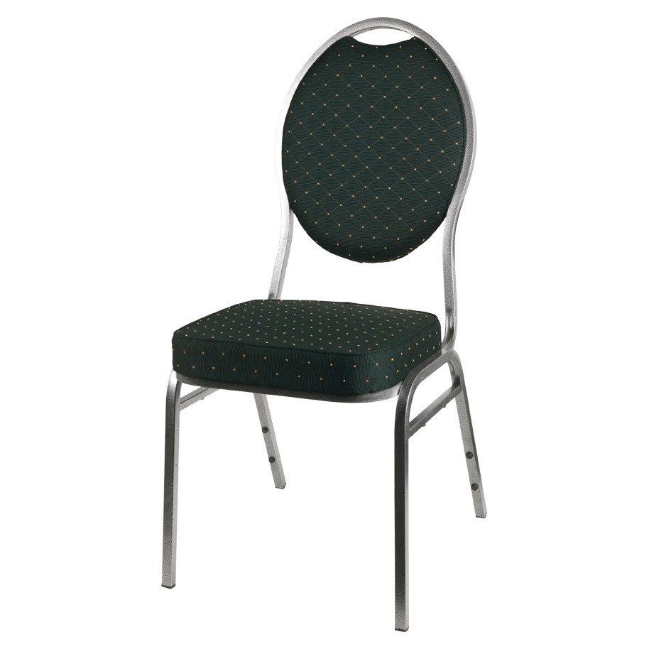 banketová židle Selectstack deluxe round černá