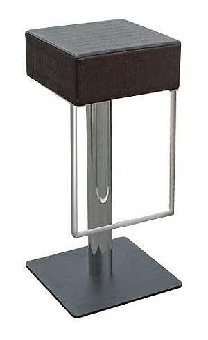 Barová židle F4731 sloupek nerez