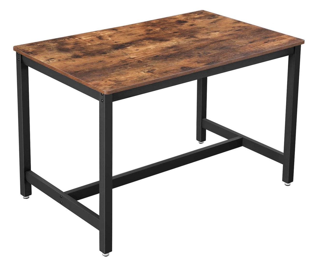 Jídelní stoly - jídelní stůl Vasagle 120x75 cm
