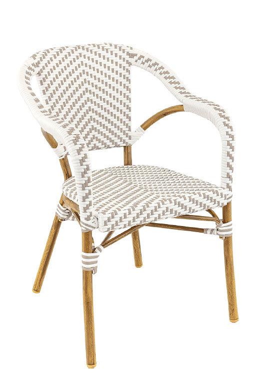 Zahradní židle - křeslo Madeleine White