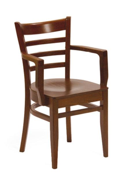 Dřevěné židle - křeslo B-5200