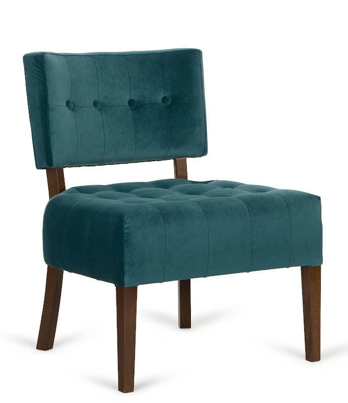 Dřevěné židle - lounge polokřeslo 9441