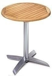 Kavárenské a restaurační stoly - luxusní skládací stoly Avangard
