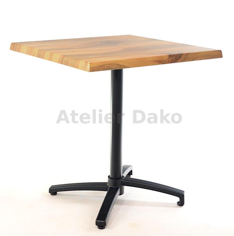 Zahradní stoly - sklopný stůl Verona black QSM