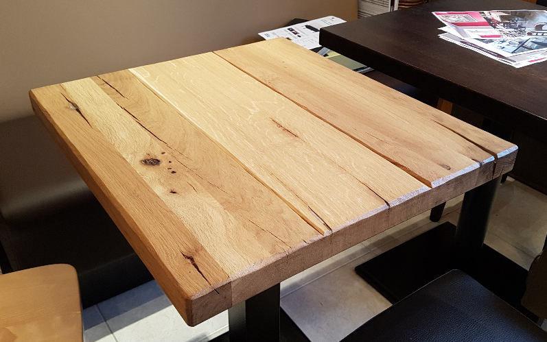stolová deska masiv dub v provedení rustikal