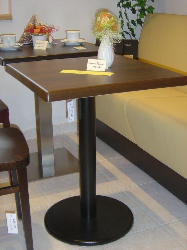 stůl Basic 025Q deska 60x60 cmSM France Noyer