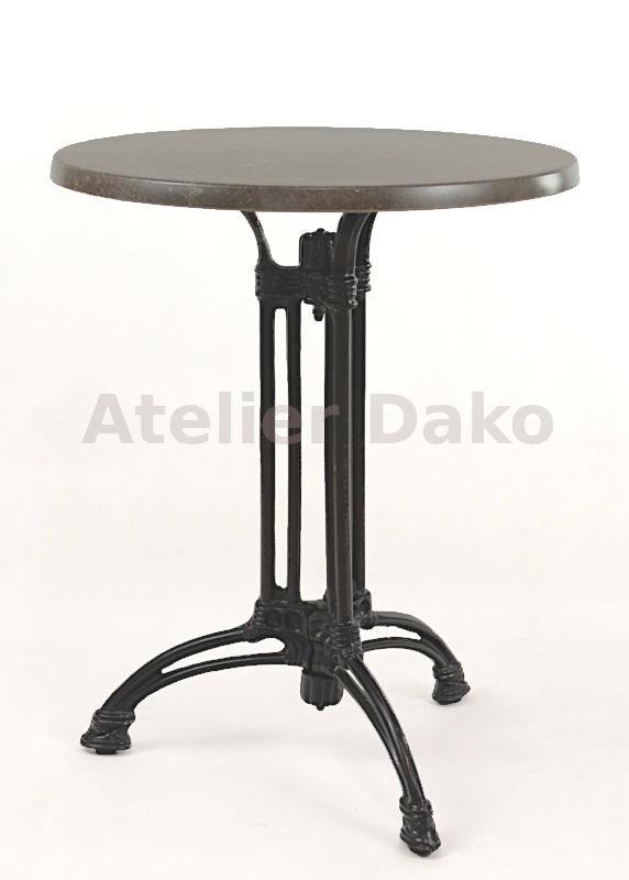 stůl Dominique 3RSM s werzalitovou deskou průměr 60cm