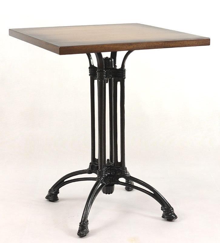 Kavárenské a restaurační stoly - stůl Dominique 4QD
