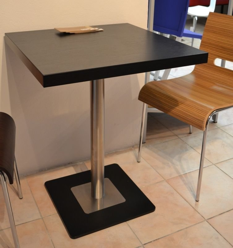 Kavárenské a restaurační stoly - stoly Flat 13QL OZS INOX