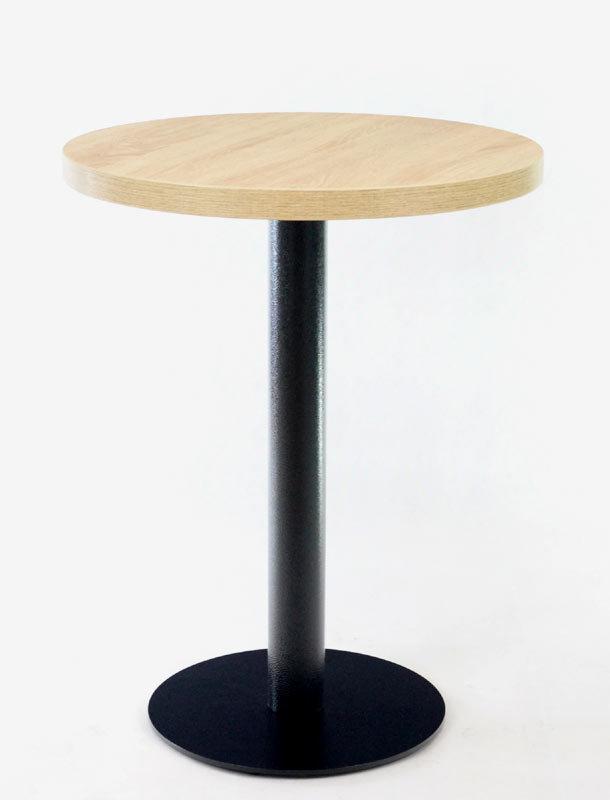 Kavárenské a restaurační stoly - stůl COME 15 RLTD s deskou Ø60cm Dub Bardolino