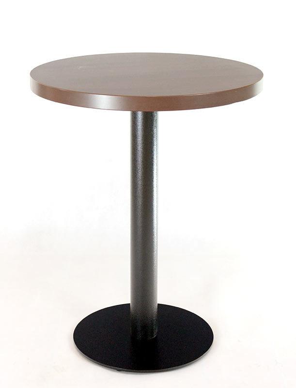 stůl COME 15 RLTD s deskou Ø60cm Ořech Aida tabákový