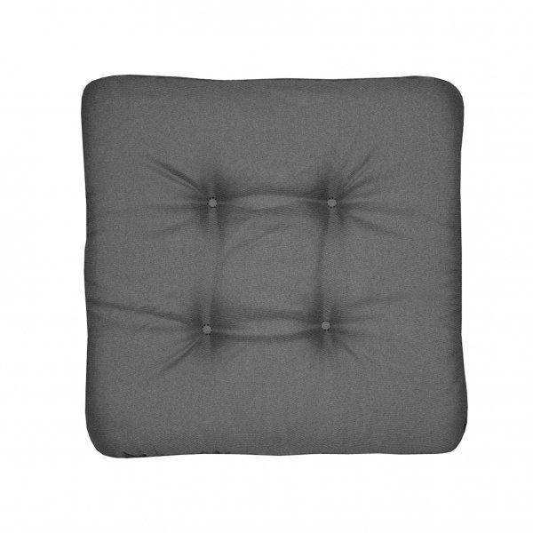 univerzální sedák prošívaný tmavě šedý