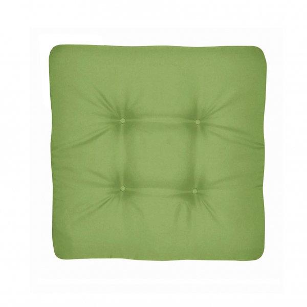 univerzální sedák prošívaný zelený
