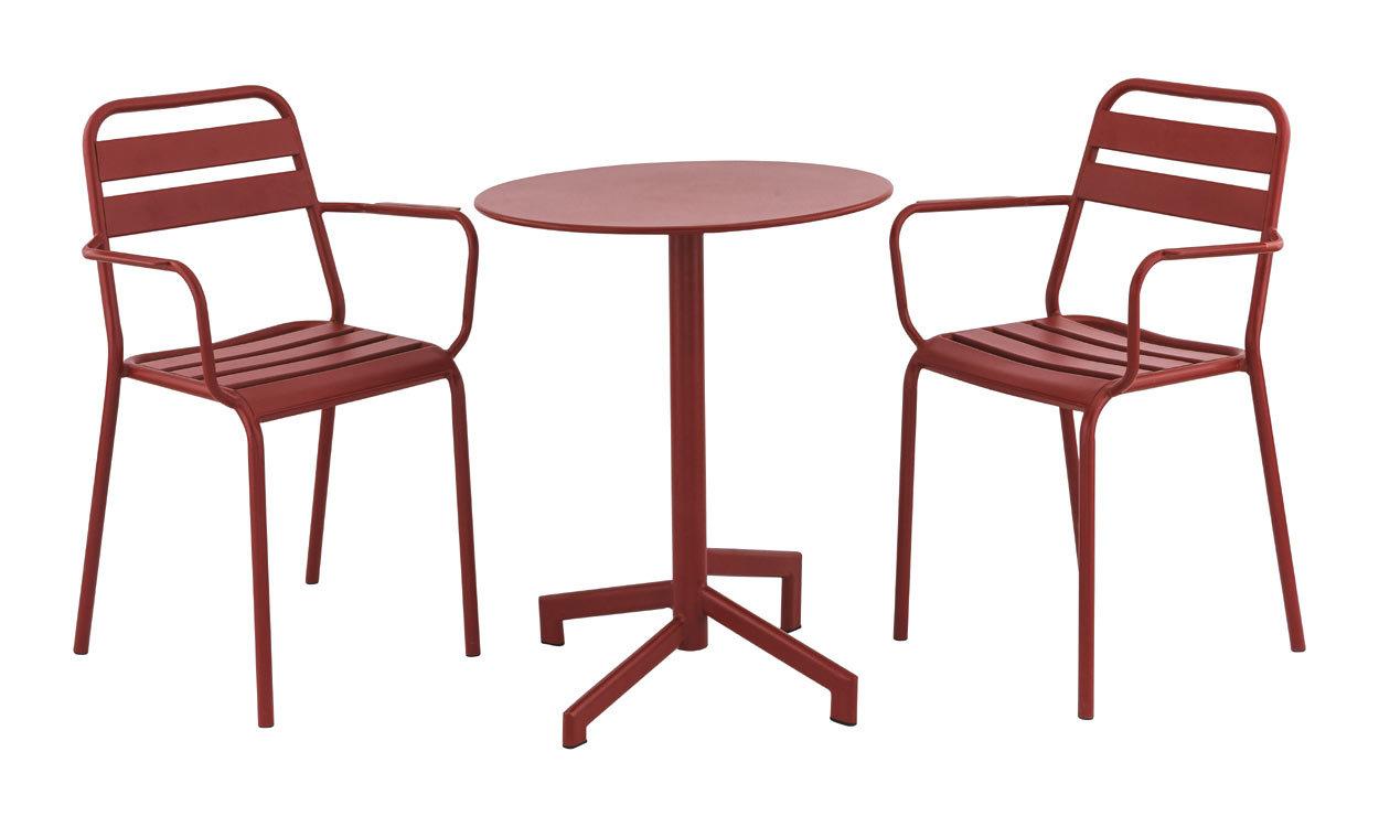zahradní set s židlemi Bastille a stolem Pigalle