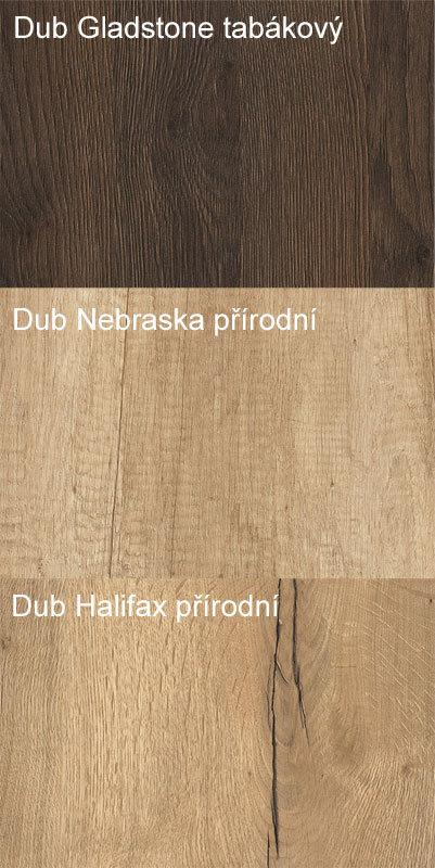 stolové desky v dekorech dubu