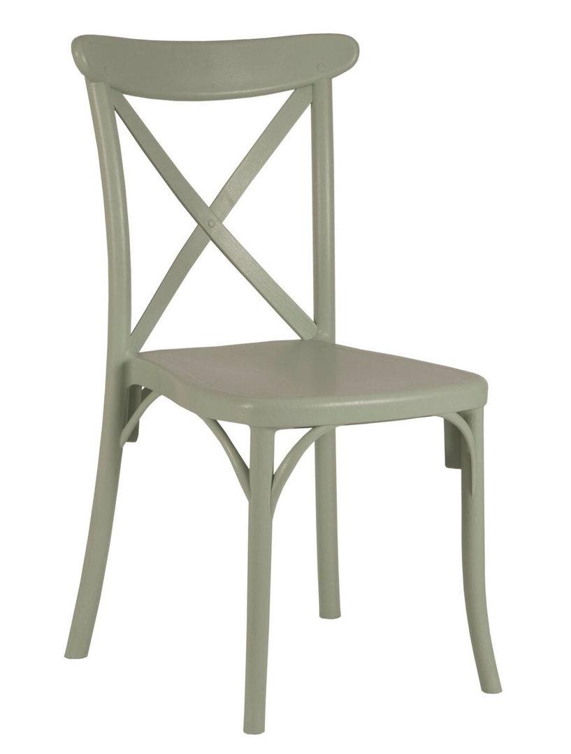židle Varna v barvě Grey Green