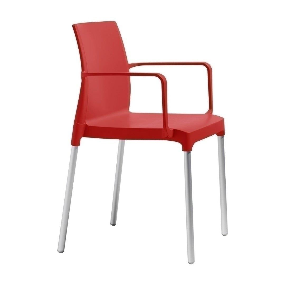židle Chloe red (výroba ukončena)