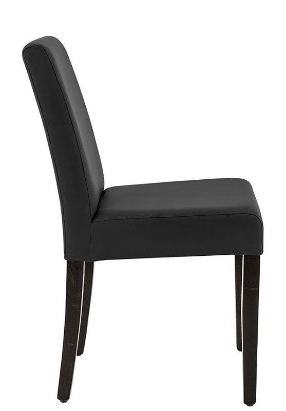 židle CLINTO Wengé / Black