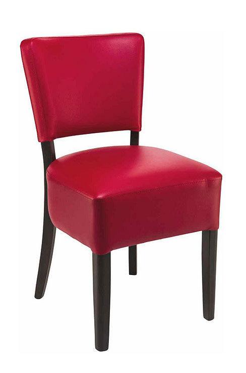 židle Floriane v barvě Bordeaux 37
