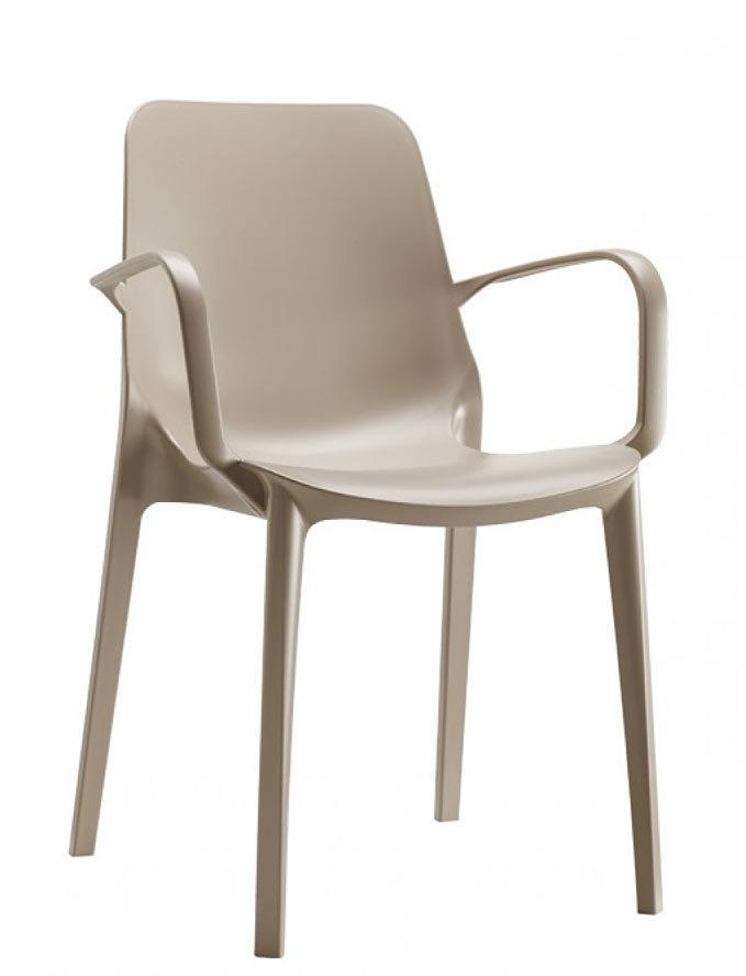 Plastové židle - Ginevra arm