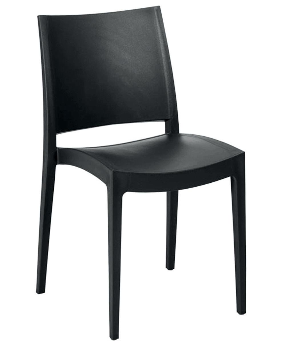 Plastové židle - židle Specto černá