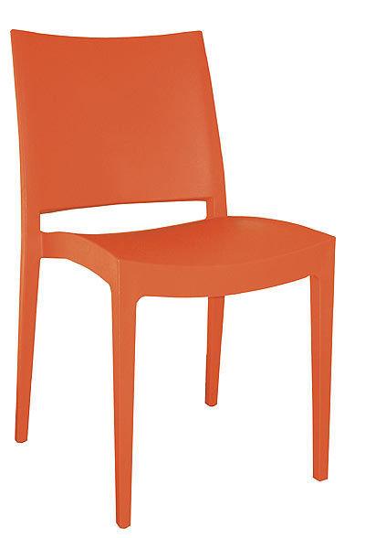 židle Specto oranžová