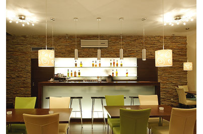 Café Restaurant Inspirace - bar dominanta přízemí