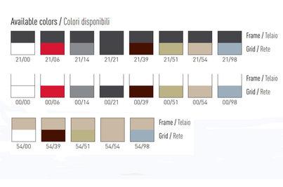 barevné kombinace u židlí Avenica