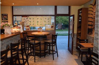 Bílovická vinárna - barové židle Pub BST v Bílovické vinárně