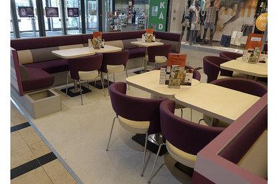 Café Arkadia - Café Arkadia v pražském nákupním centru Arkády Pankrác