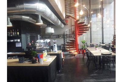 Kavárna Cafedu - interiér Kavárny Cafedu