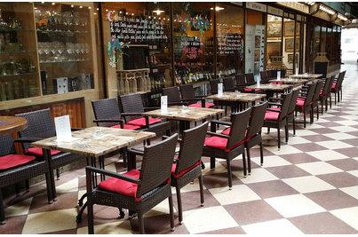 Cellarius Wine bar  - křesla Mezza A Leather Look Cellarius Wine bar