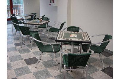 Na Groši Bowling Pizzerie - netradiční stolové desky SM France ve Squash centru Na Groši
