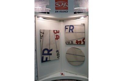 Nové dekory stolových desek SM France Regate a Sail