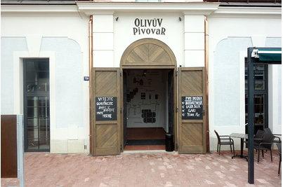 Olivův pivovar - Olivův pivovar vchod