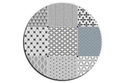 stolová deska v dekoru CIMENT BLANC