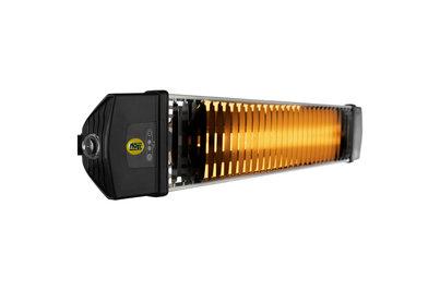 tepelný infrazářič IRIS s dálkovým ovládáním