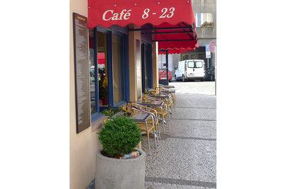 Kavárna Tobruk - zahrádka na