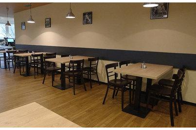 Restaurace a jídelna Zelený Pruh - židle 189 se stoly 60x70cm