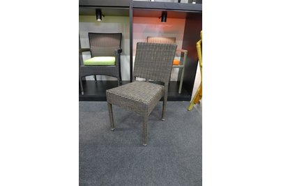 Židle Mezza ve výpletu Coffe Mix