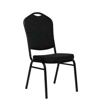 Kovové židle - banketová židle Selectstack deluxe black