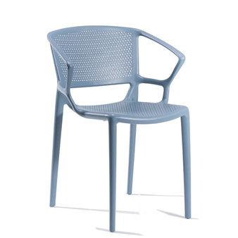 Plastové židle - Fiorellina perforovaná s područkami