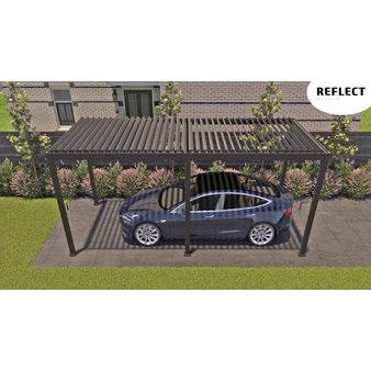 Hliníkové pergoly - Hliníkový přístřešek pro auto Reflect anthracite