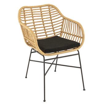 Zahradní židle - křeslo Bali natural