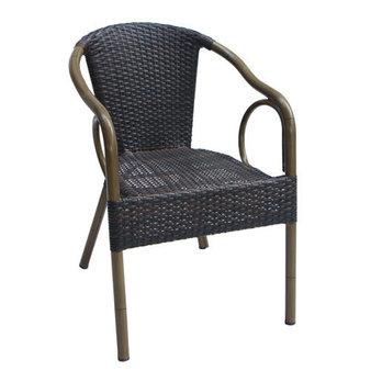 Zahradní židle - křeslo Costa Leather look