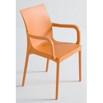 Plastové židle - křeslo Iris B