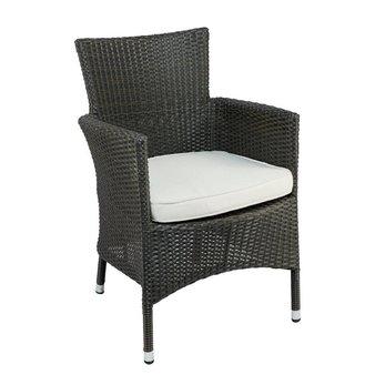 Zahradní židle - křeslo Isaline Black