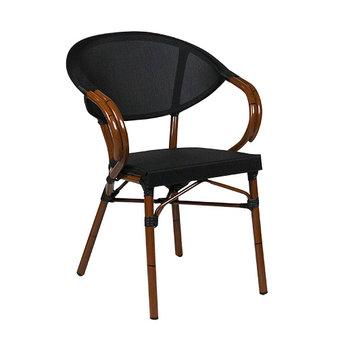 Zahradní židle - křeslo Marino Classic Black