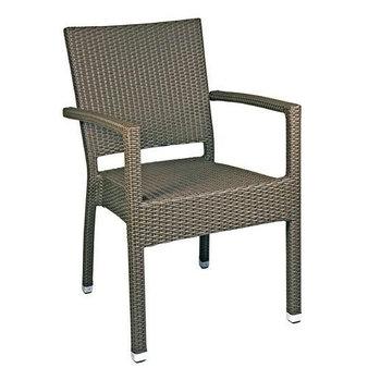 Zahradní židle - křeslo Mezza A castana